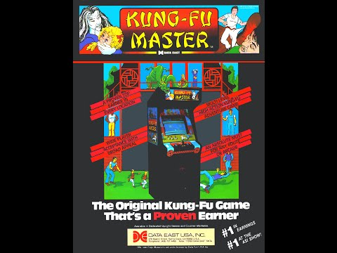 KUNG FU MASTER ARCADE MAME WORLD RECORD 1984 video game DATA EAST IREM