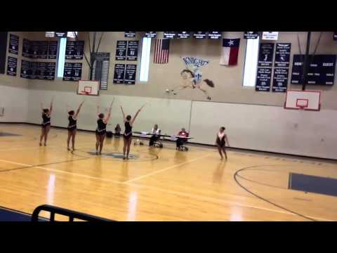 Karnes City High School Twirlers at State Competiton 2013