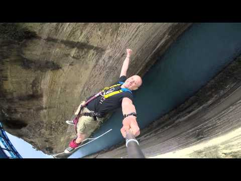 Bungee jumping @ Corinth Canal (Isthmos) - Spartans
