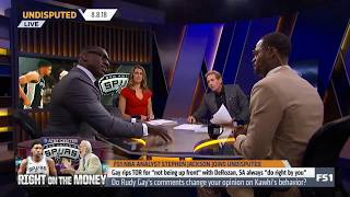 FS1 NBA Stephen Jackson join Undisputed 08/08| Gay rips TOR for