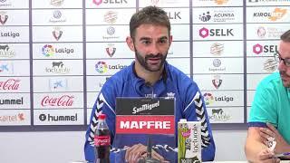 """Adrián: """"La sensación de ganar en El Sadar es muy especial"""""""