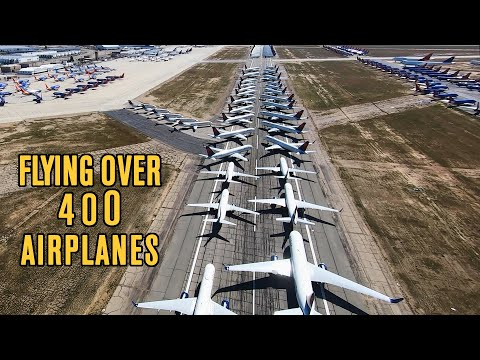 Where did the airlines park their airplanes? // WOW!!!