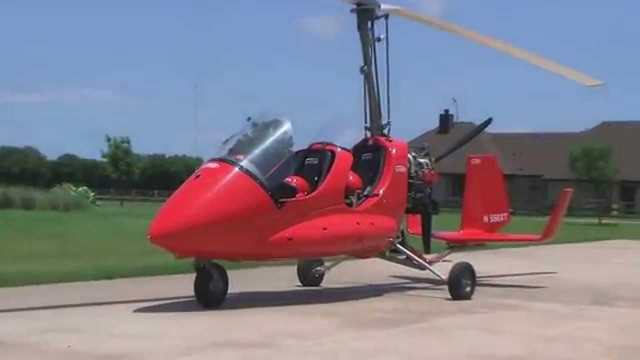 Titanium Autogyro Testing. First flight in the USA - YouTube