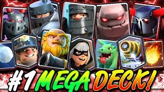 The MOST POWERFUL Mega Deck in Clash Royale HISTORY!! Mega Challenge!