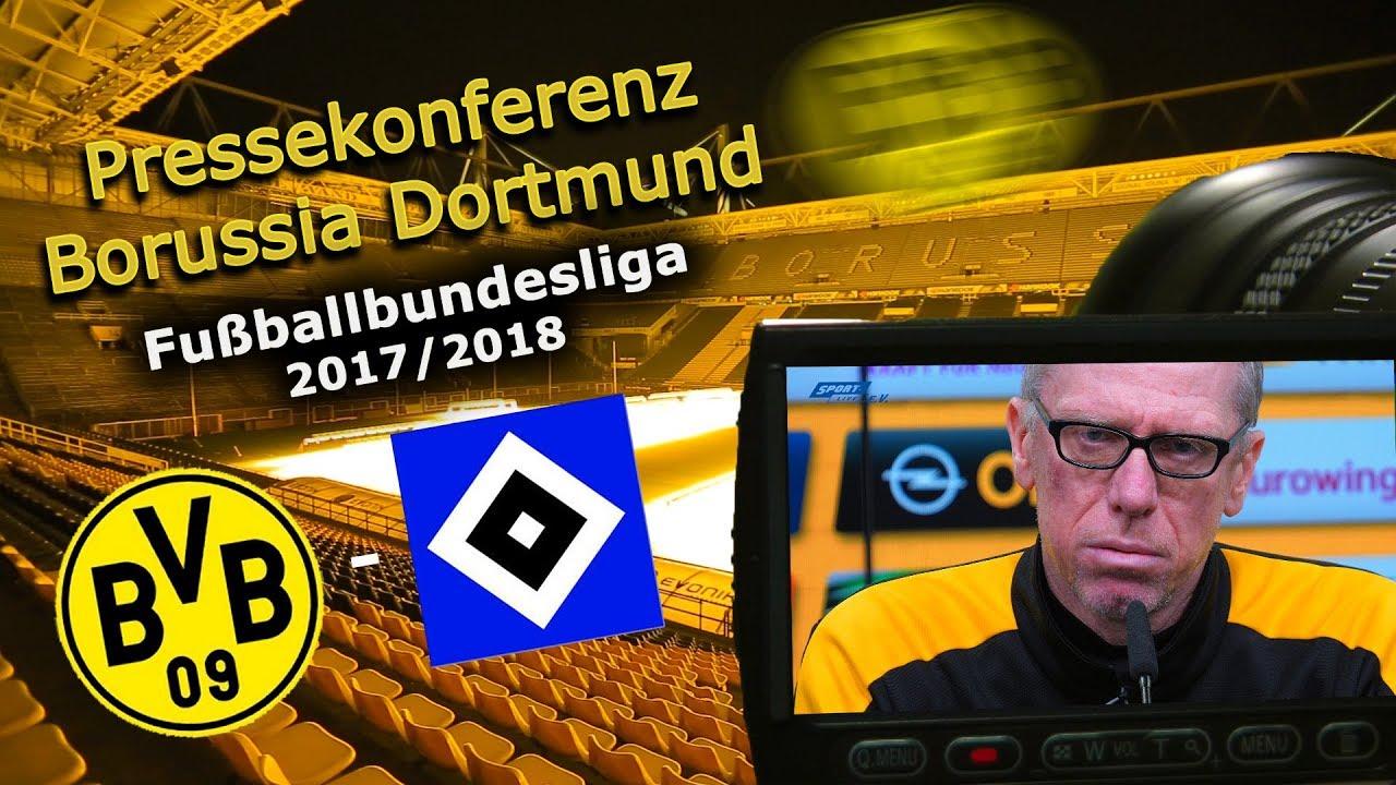 Borussia Dortmund - Hamburger SV: Pk mit Peter Stöger