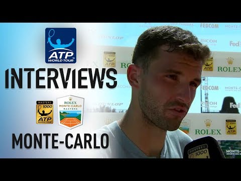 Dimitrov Says It's 'Amazing' To Reach First Monte-Carlo SF