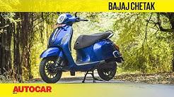 2020 Bajaj Chetak EV Review   First Ride   Autocar India