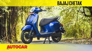2020 Bajaj Chetak EV Review | First Ride | Autocar India