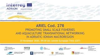 ARIEL project cod.278 | Final Virtual Conference | WP Communication