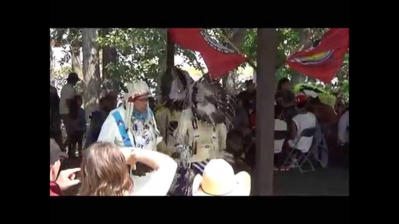 Indian Village Pow Wow Men S Buckskin Dance 1 Calgary