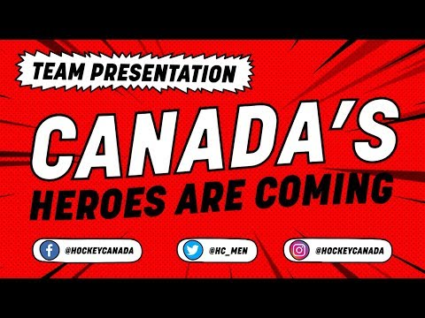 Canada Team Presentation - #IIHFWorlds 2018 - 동영상