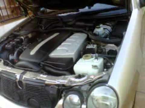 Motor Mercedes E320 Cdi 2001 Youtube