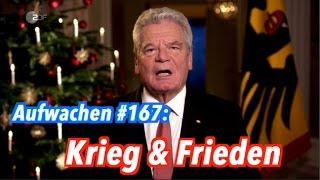 Weihnachtsnachrichten, Kerry & Israel: Krieg & Frieden - Aufwachen Podcast #167