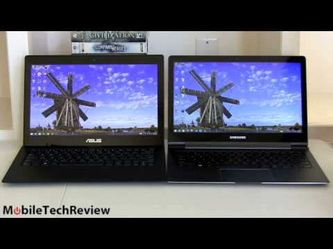 Asus Zenbook UX301 vs. Samsung ATIV Book 9 Plus Comparison Smackdown
