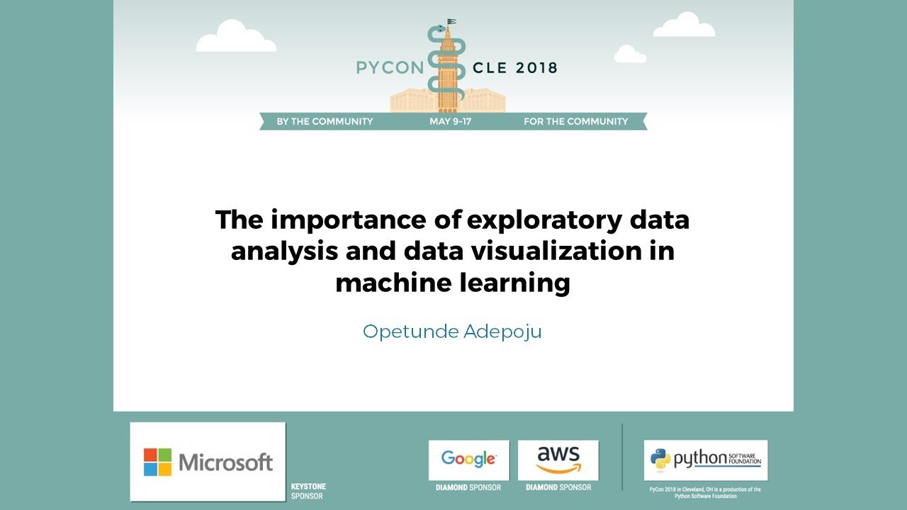 Image from The importance of exploratory data analysis and data visualization in machine learning