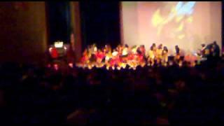 BHS 2010 rally cheerleaders dance