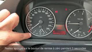 Remise à zéro des indicateurs de maintenance, vidange, contrôle technique... - TUTO BMW