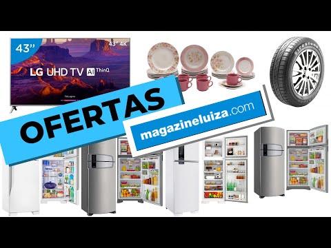 OFERTAS de hoje Loja MAGAZINE LUIZA Promoção de TV Geladeira Celular Smartphone Pneu pra VOCÊ