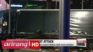 Berlin terror attack, Truck crashes into Christmas market killing 12