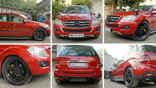 Mercedes ML Painted Red | Paint job by Autorounders