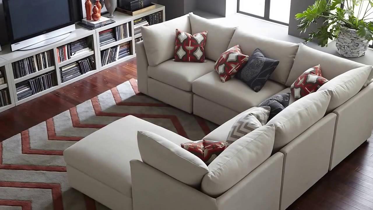Beau The Beckham Sectional Sofa By Bassett Furniture. Bassett   San Diego