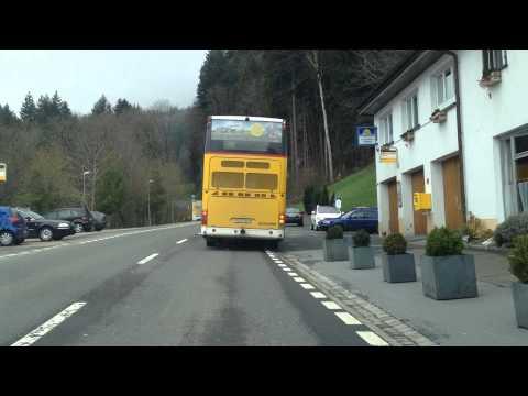 Die Jagd nach dem Postauto (Wildhaus 2012)