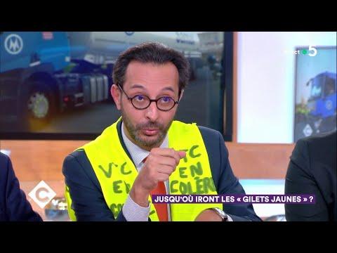 Gilets Jaunes : Le Mouvement Se Durcit - C à Vous - 20/11/2018