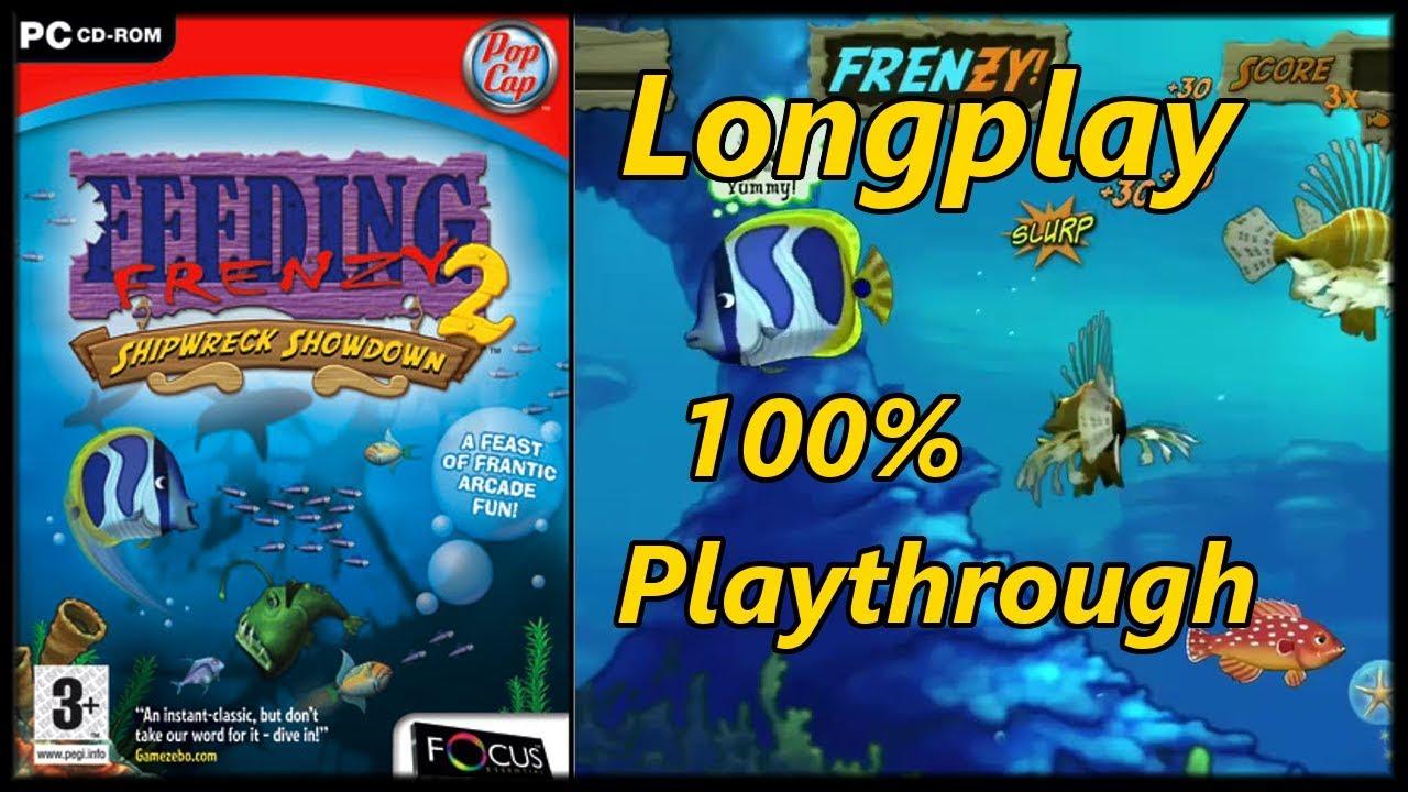 Download Feeding Frenzy 2 - Longplay 100% Full Game (PC) Walkthrough (No Commentary)