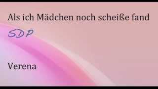 SDP Als ich Mädchen noch scheiße fand (Original Song)