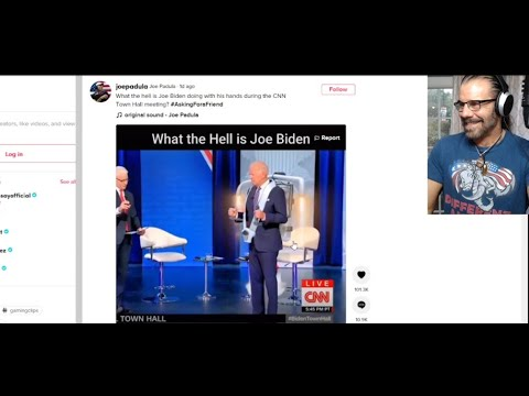 Biden's STRANGE Hand Position During Townhall, Crowder Gets Pummeled Again by Corporate Media