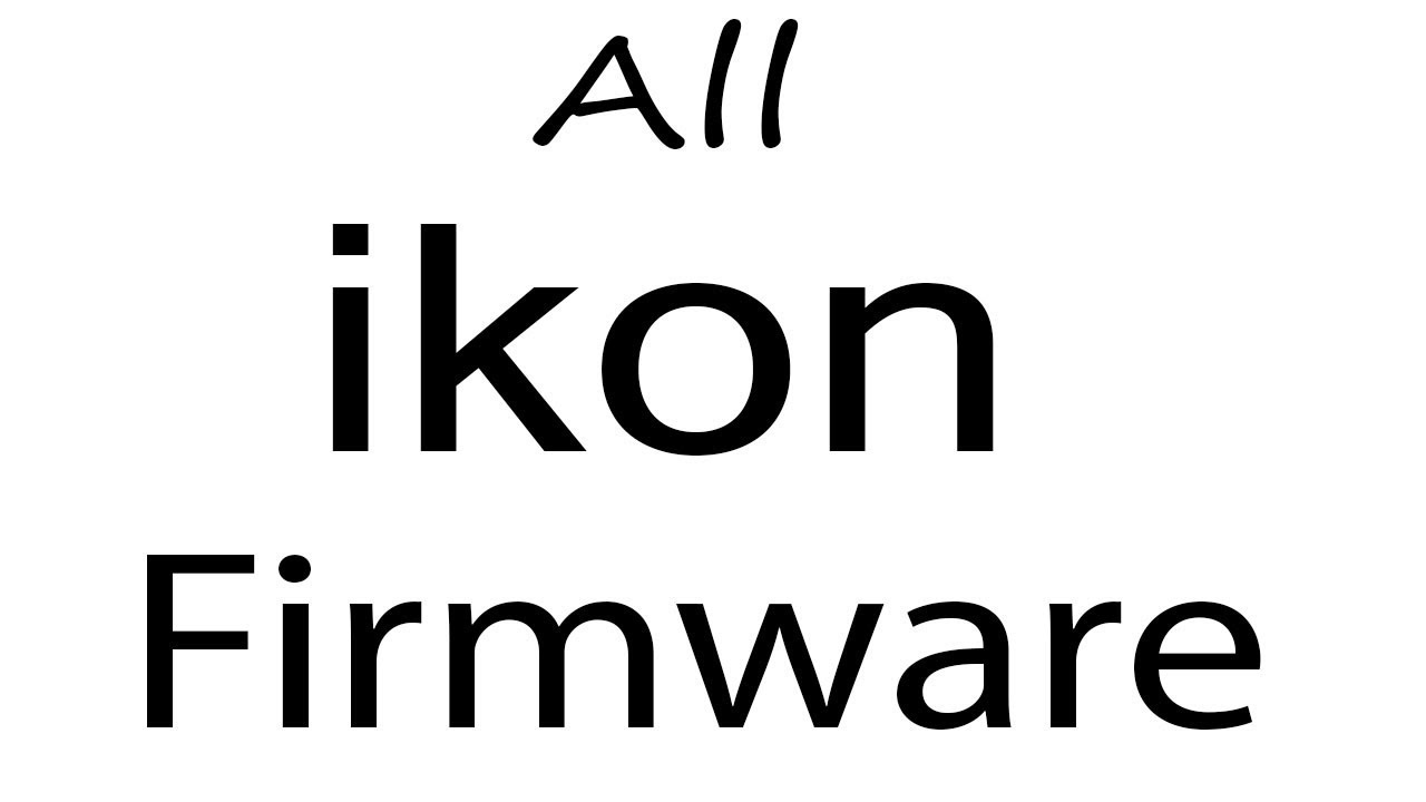 Download ikon all Models Stock Rom Flash File & tools (Firmware) For Update  ikon Android Device