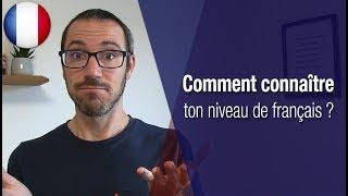 Quel est ton niveau de français ?