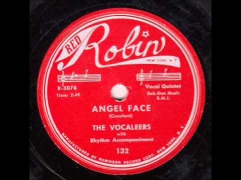 VOCALEERS -  Angel face / Lovin' baby - Red Robin 132 - 1954