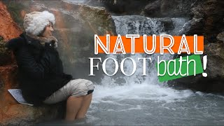 Natural Foot Bath! | Japan Travel Vlog (Hokkaido)