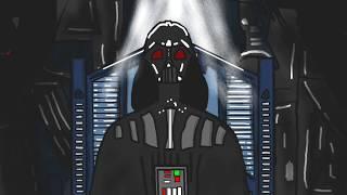 звездные войны эпизод 3 рождение Дарта Вейдера ( анимация )