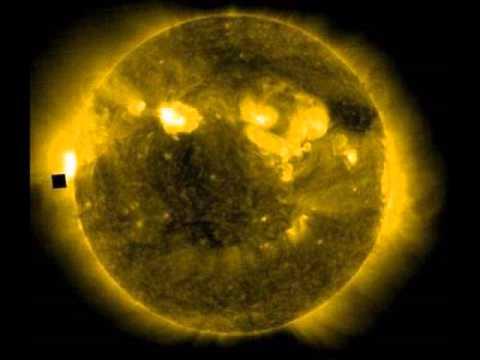 Mysterious Giant Black Cube orbiting the sun