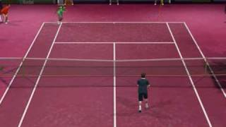 VIRTUA TENNIS 2009 Federer vs Nadal (very hard)