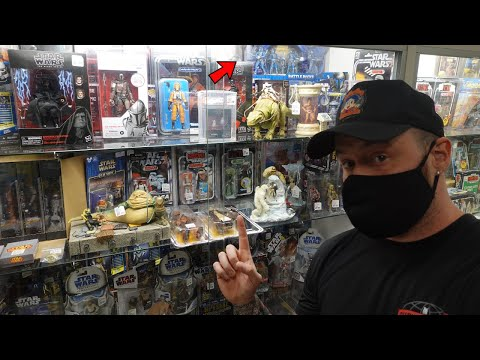 Toy Hunting at the BEST Toy Store in Ohio - Star Wars Black Series, Hot Toys, Marvel Legends!