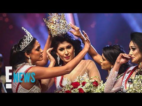 Mrs. Sri Lanka Pushpika De Silva Speaks Out After Crown Snatching   E! News