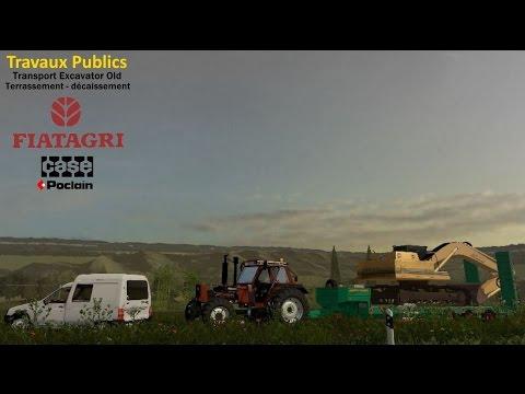 Farming Simulator 15 - TRAVAUX PUBLICS - TRANSPORT EXCAVATOR OLD - Stappenbach #23