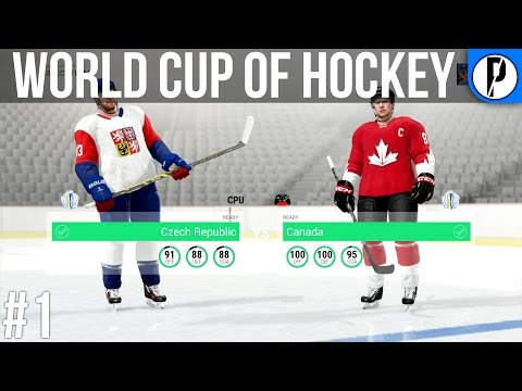 NHL 17 WCH - Canada vs Czech Republic Ep.1 (Xbox One)
