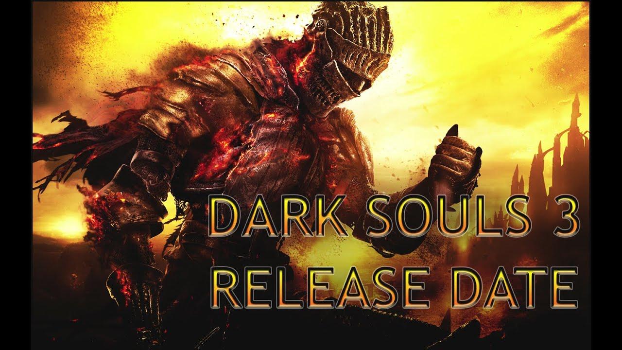 Dark souls 3 release date in Melbourne