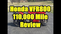 110,000 Mile Review and Modifications, Honda VFR 800 Interceptor