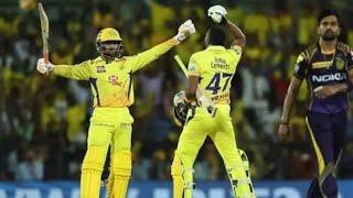 Historic CSK Vs KKR Match Review | IPL 2018