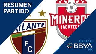 Resumen   Atlante 2   0 Mineros   Ascenso Bbva Mx   Apertura 2019