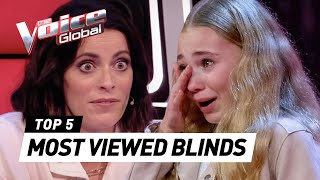 MOST VIEWED Blind Auditions of 2021: Germany 🇩🇪