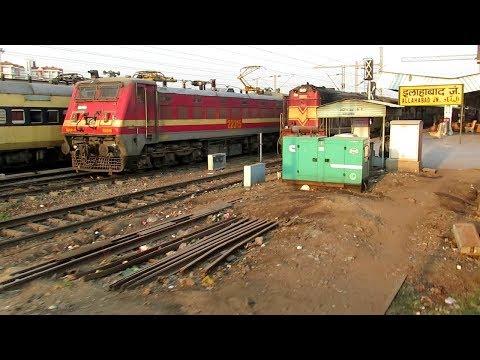 इलाहाबाद में गाड़ी लेट क्यों होती है ? | Why Train Delayed at Allahabad  ?