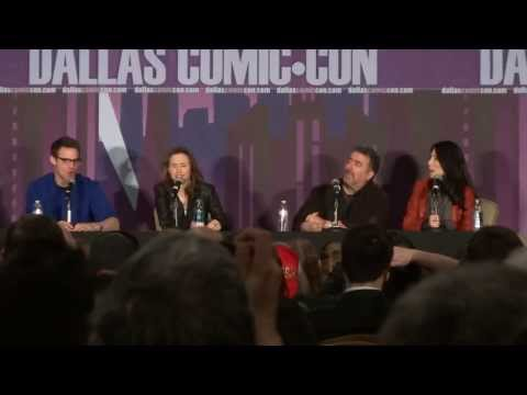Warehouse 13 cast reunion Q & A at Comic Con part 1 of 3