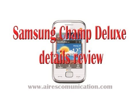 Samsung Champ Deluxe details review
