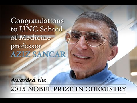 Nobel Prize Press Conference at UNC-Chapel Hill